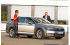 VW Passat, Seitenansicht, Dirk Gulde, Heinz-Jakob Neußer