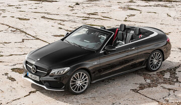 02/2016, Mercedes C-Cabrio Sperrfrist 29.2. 20 Uhr AMG C43 Cabrio
