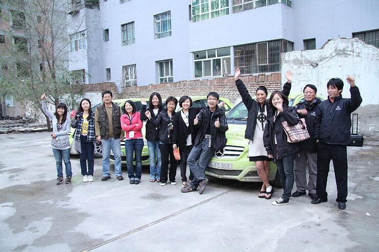 05/11 Mercedes F-Cell World Drive, B-Klasse, Brennstoffzelle, 52. Tag