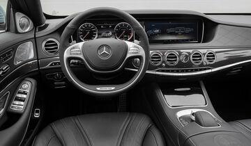 07/2013 Mercedes S 63 AMG S-Klasse, Innenraum
