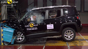 12/2014, EuroNCAPCrashtest Jeep Renegade