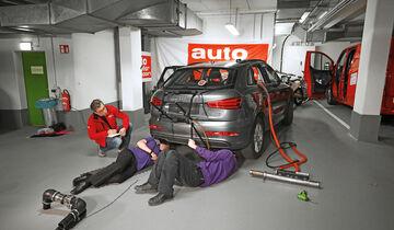 Abgastest auf der Straße, Audi Q3, AMS2515