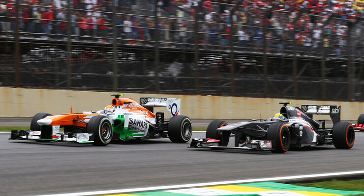 Adrian Sutil - Force India - GP Brasilien 2013