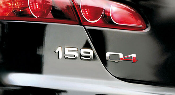 Alfa Romeo 159 Q4 Schriftzug