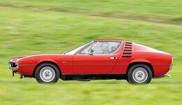 Alfa Romeo Montreal, Seitenansicht