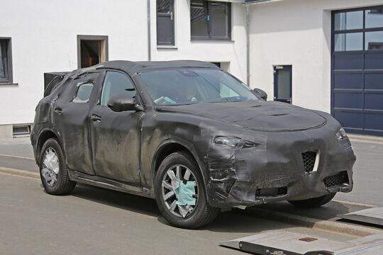 Alfa Romeo Stelvio Erlkönig