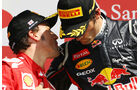 Alonso & Webber GP England Silverstone 2012