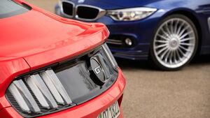 Alpina B4 Biturbo Coupé, Ford Mustang GT 5.0 Fastback, Rad, Felge