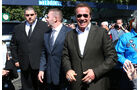 Arnold Schwarzenegger - Formel 1 - GP Australien 2015