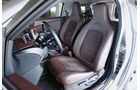 Aston Martin Cygnet, Fahrersitz