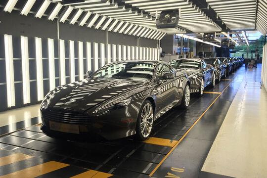 Aston Martin DB9 - V12 - letzte Inspection