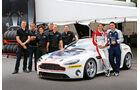 Aston Martin GT4 Challenge, Fahrer und Team