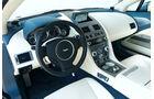 Aston Martin Rapide, Innenraum, Detail, Cockpit