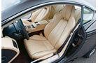 Aston Martin Virage, Sitze
