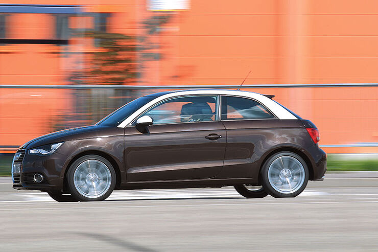 Audi A1 Seite