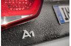 Audi A1 quattro, Typenbezeichnung, Emblem
