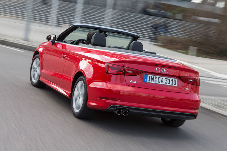 audi a3 cabrio im fahrbericht offen f r perfektion auto motor und sport. Black Bedroom Furniture Sets. Home Design Ideas