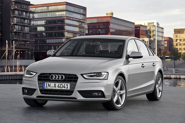 Audi A4, Front