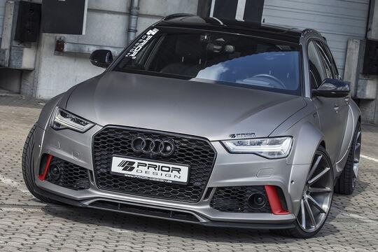 Audi A6 Avant und RS6 Prior Design