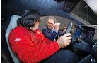 Audi R8 Sitzprobe