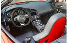 Audi R8 Spyder 5.2 FSI quattro Innenraum