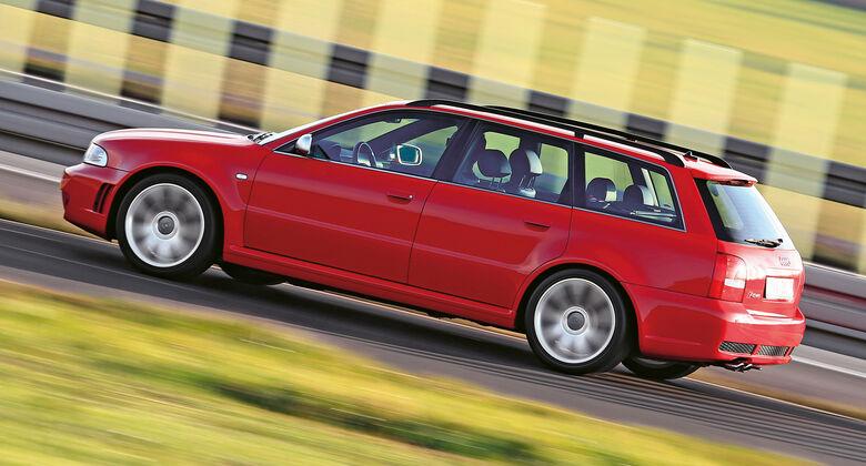 Audi RS 4, Seitenansicht