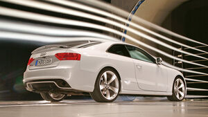 Audi RS 5 Coupé, Windkanal