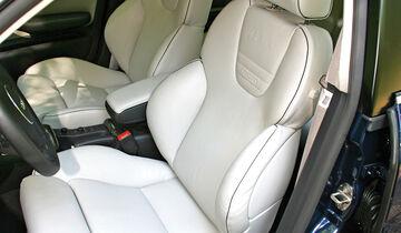 Audi RS 6, Fahrersitz