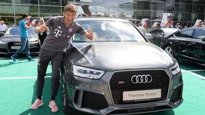 Audi RS Q3 Performance - Thomas Müller - FC Bayern München - Dienstwagen