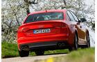 Audi S4, Heck