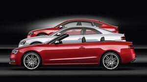 Audi S5, 2012, Facelift, Coupé, Cabrio, Limousine