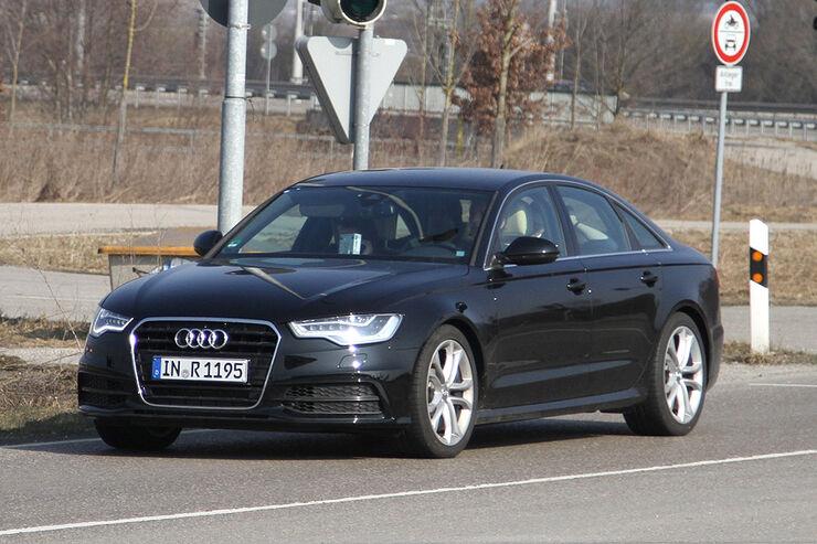 Audi S6 Erlkönig