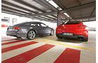 Audi S7 Sportback, Porsche Panamera GTS, Heckansicht