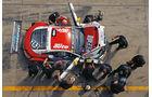 Audi TT RS FH Köln, Boxengasse, von oben