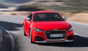 Audi TT RS Sperrfrist 25.4.2016 4.00 Uhr