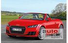 Audi TT Roadster, Frontansicht