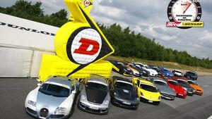 Aufmacher 0-300-0 2010, Serien- und Tunerautos