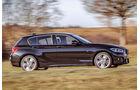 BMW 120i, Seitenansicht