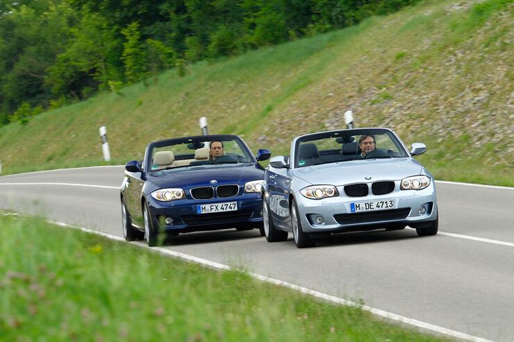 BMW 123d Cabriolet, BMW125i Cabriolet, Frontansicht