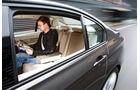 BMW 320d Modern Line, Rücksitz, Innenraum