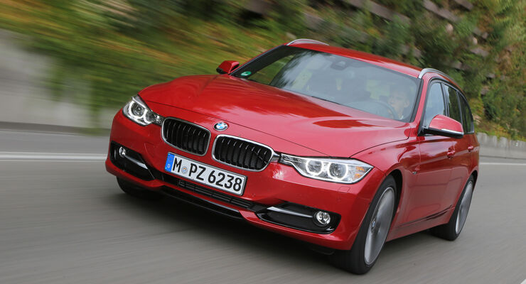 BMW 320d Touring Sport Line, Frontansicht
