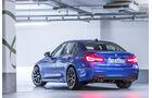 BMW 330d, Heckansicht