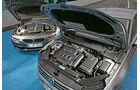 BMW 330d xDrive, VW Passat 2.0 TDI 4Motion, Motor