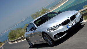 BMW 435i Coupé, Frontansicht