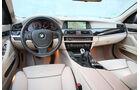 BMW 520d Touring, Cockpit