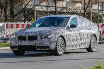 BMW 5er GT G30, Erlkönig, 11/2015 , Front