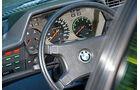 BMW 635 CSi, Lenkrad, Rundinstrumente