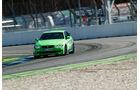 BMW Alpina B3 GT3, Frontansicht, Kurvenfahrt