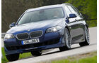 BMW Alpina B5 Biturbo Touring, Frontansicht, Fahrt