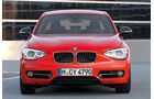 BMW Einser, Frontansicht